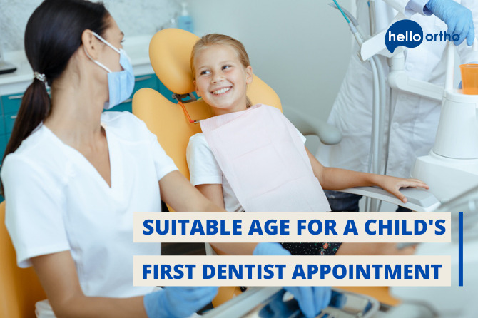 What Age Is Suitable For A Child's First Dentist Appointment?