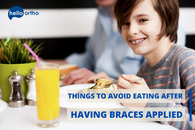 Things To Avoid Eating After Having Braces Applied